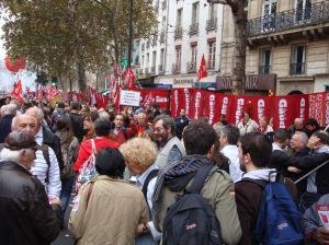 Les syndicats ont appelé à manifester contre la rigueur