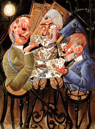 Gueules cassées, peintes par Otto Dix
