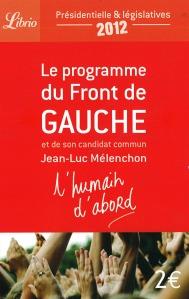 Le programme partagé du Front de Gauche
