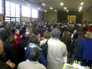 Meeting de Jean-Luc Mélenchon à Montreuil