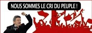 Mélenchon Front de Gauche Place au peuple